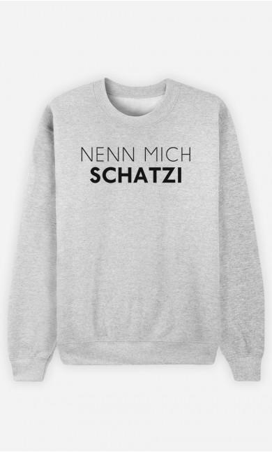 Sweatshirt Nenn mich Schatzi