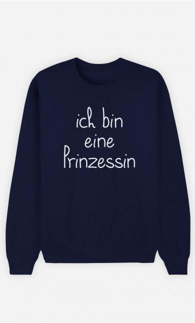 Sweatshirt Blau Ich bin eine Prinzessin