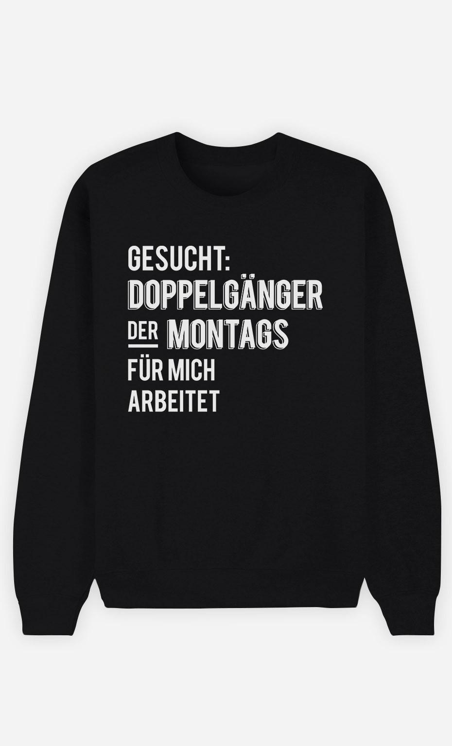 Sweatshirt Schwarz Gesucht Doppelgänger