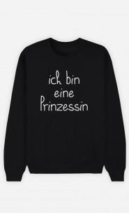 Sweatshirt Schwarz Ich bin eine Prinzessin