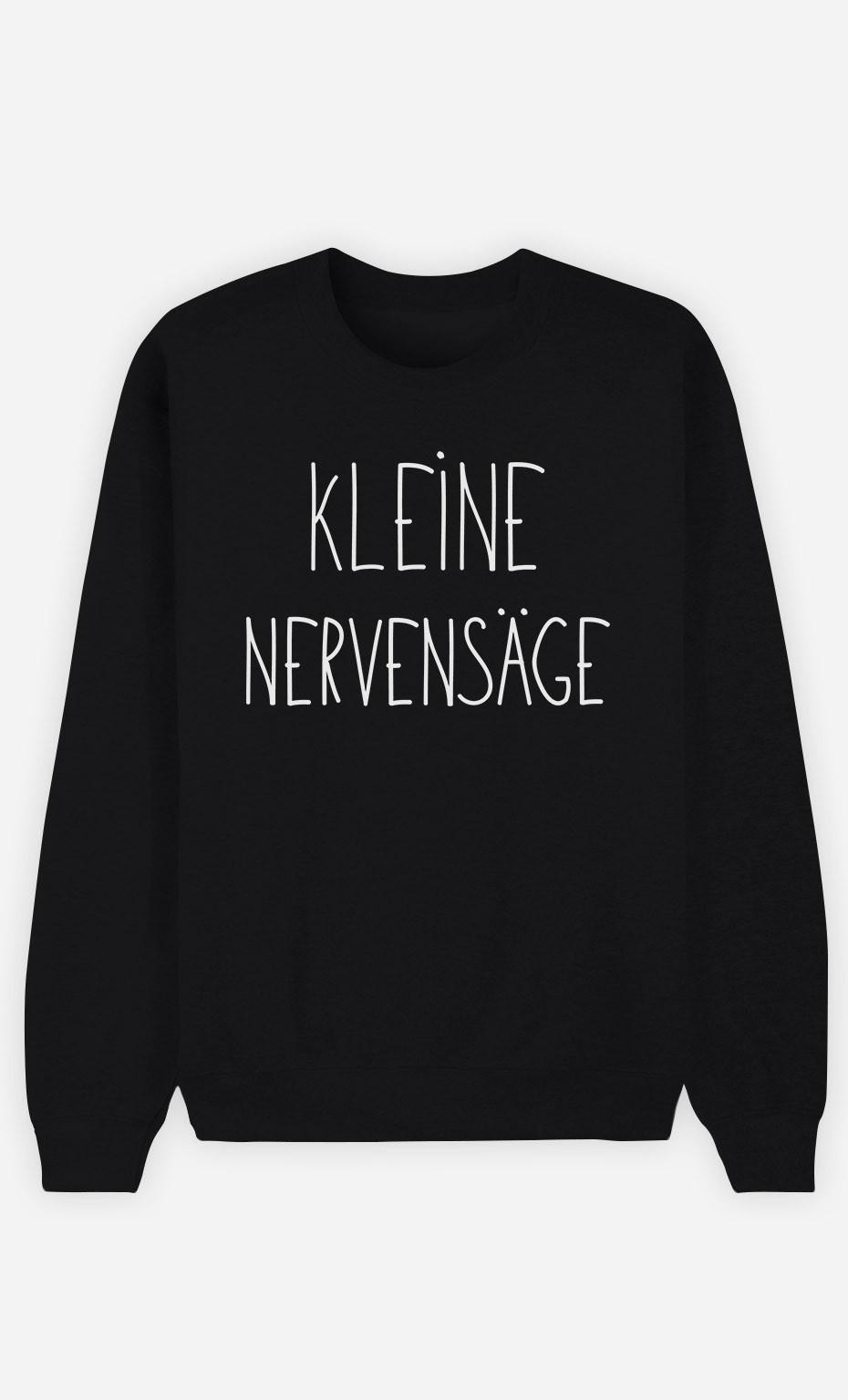 Sweatshirt Schwarz Kleine Nervensäge