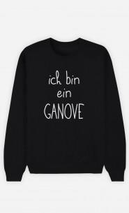 Sweatshirt Schwarz Ich bin ein Ganove