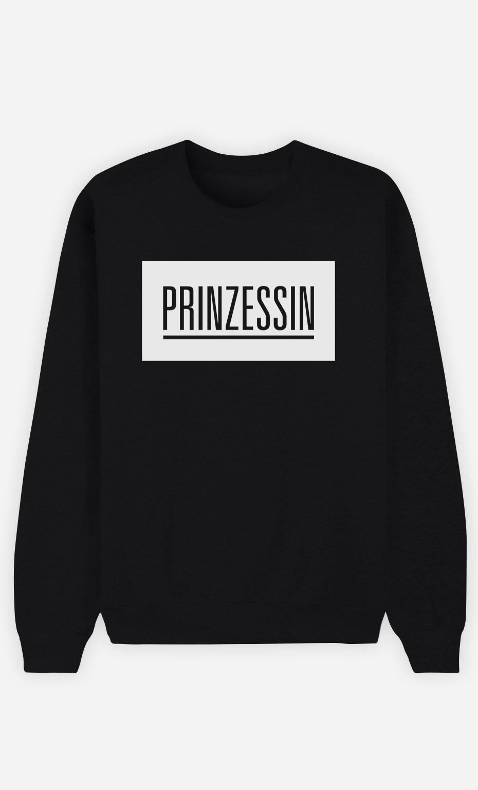 Sweatshirt Schwarz Prinzessin