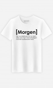 T-Shirt Morgen Definition