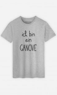 T-Shirt Grau Ich bin ein Ganove