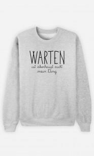 Sweatshirt Warten