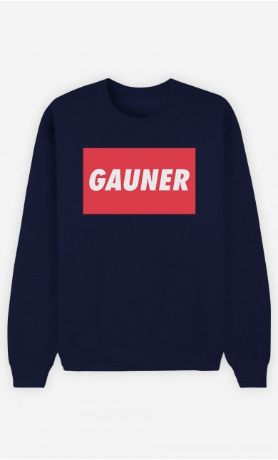 Sweatshirt Blau Gauner