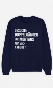 Sweatshirt Blau Gesucht Doppelgänger