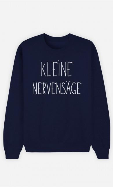 Sweatshirt Blau Kleine Nervensäge