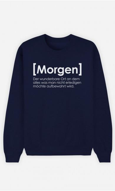 Sweatshirt Blau Morgen Definition