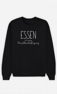 Sweatshirt Schwarz Essen