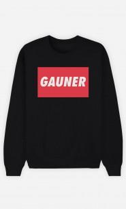 Sweatshirt Schwarz Gauner