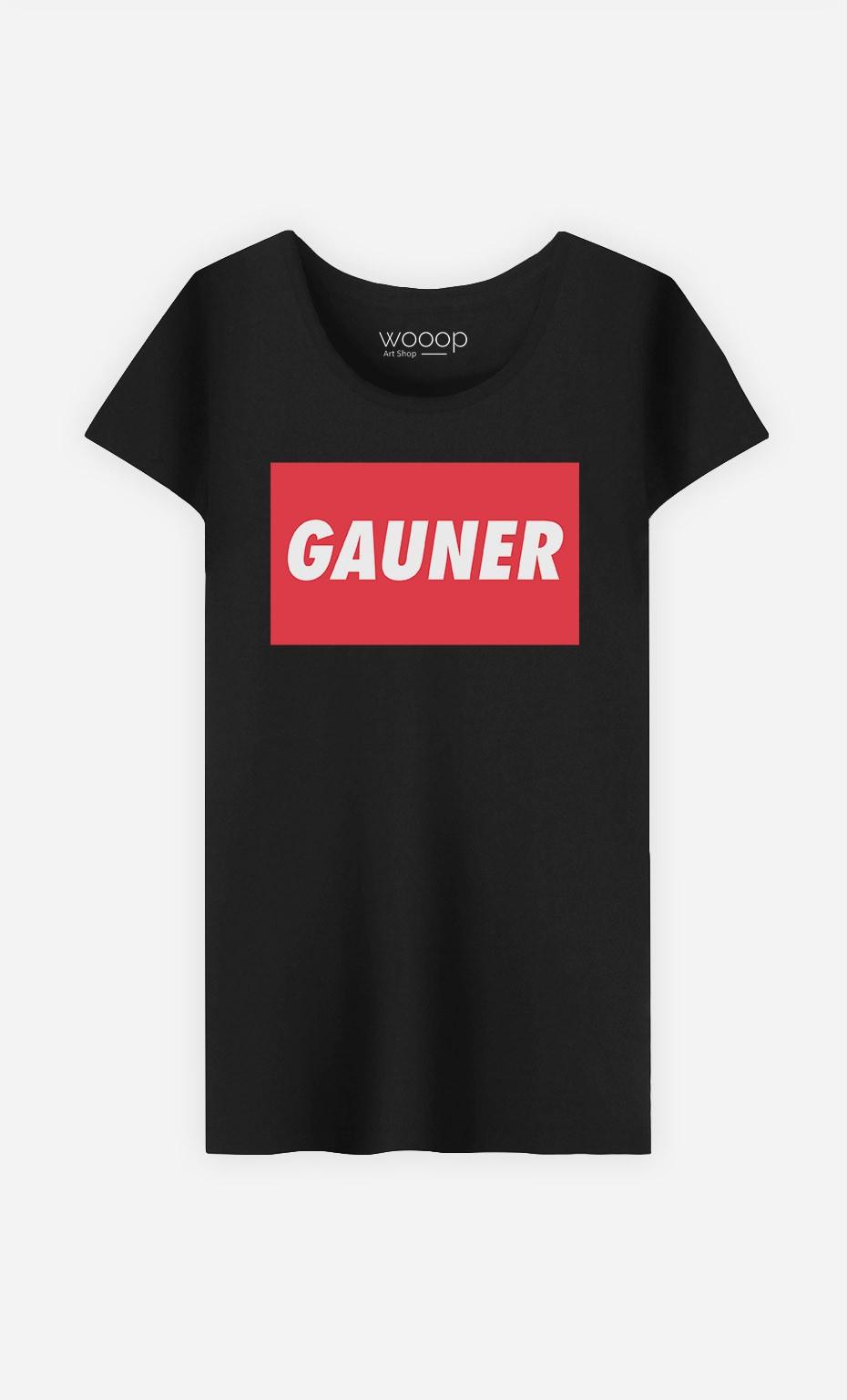 T-Shirt Schwarz Gauner