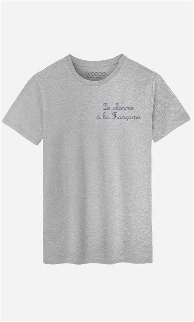 T-Shirt Le Charme A La Française - bestickt