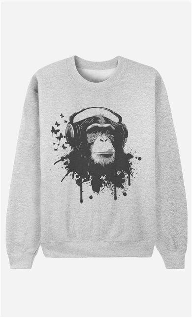 Sweatshirt Creative Monkey