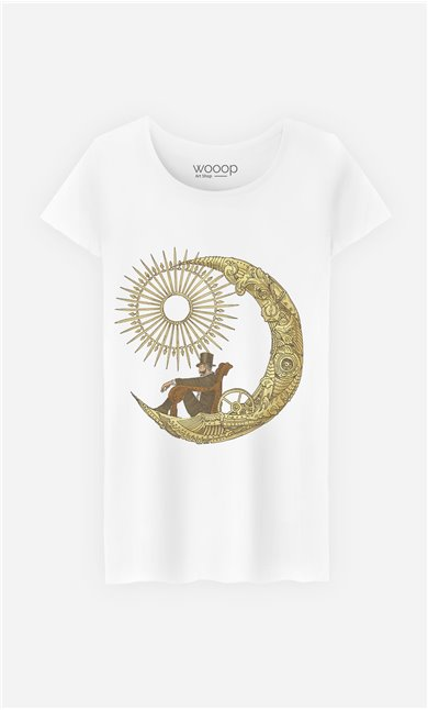 T-Shirt Moon Travel