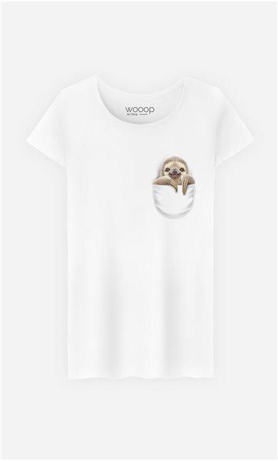 T-Shirt Pocket Sloth