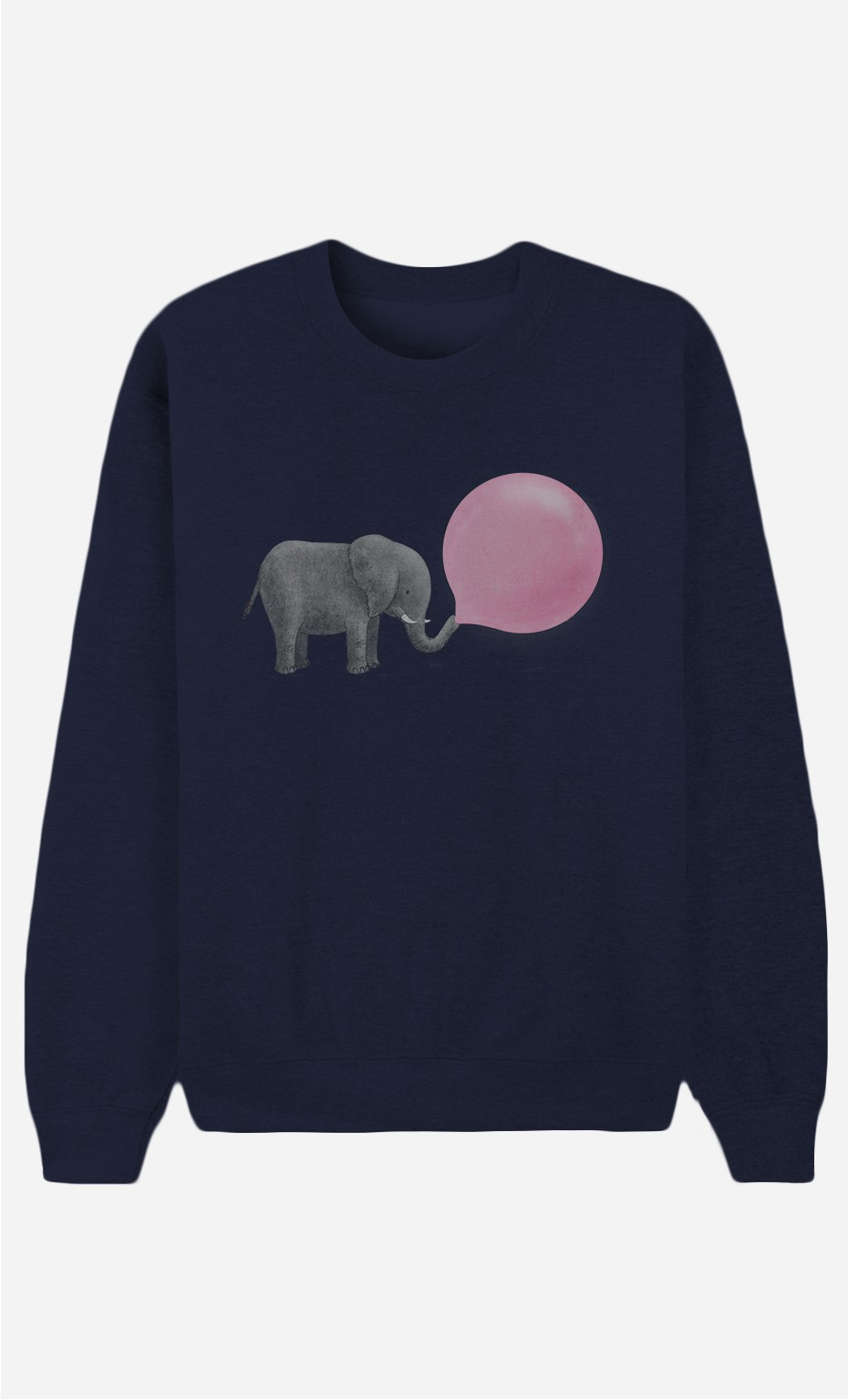 Blaue Sweatshirt Jumbo Bubble Gum