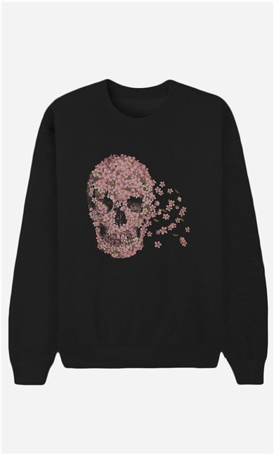 Schwarze Sweatshirt Beautiful Death