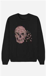 Schwarze Sweatshirt Beautiful Death