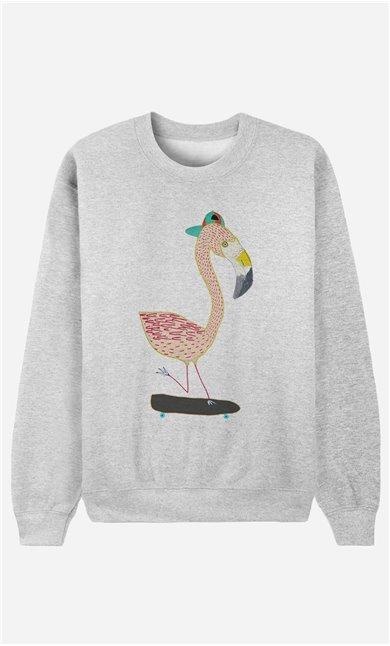 Sweatshirt Flamingo Skater