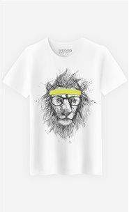 T-Shirt Hipster Lion