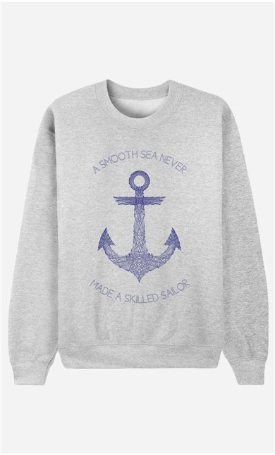 Sweatshirt Smooth Sea