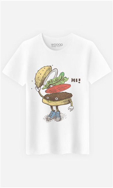 T-Shirt Burger Greeting