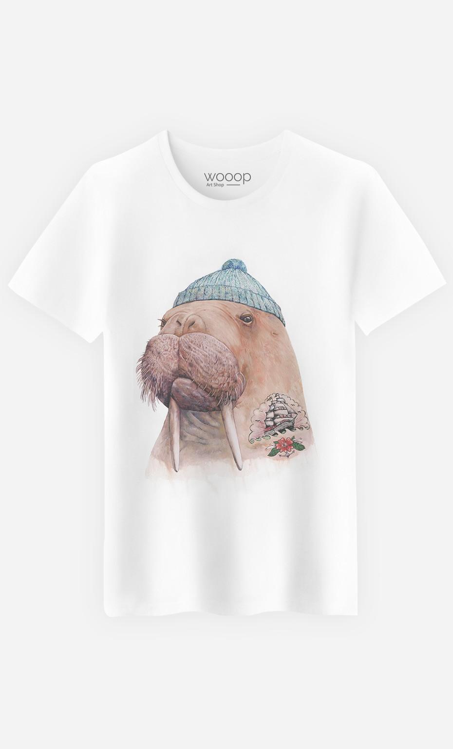 T-Shirt Tattooed Walrus
