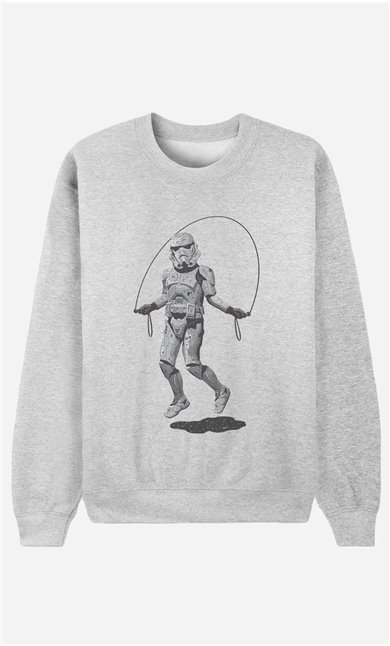 Sweatshirt Stormtrooper Skipping