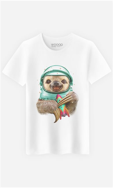 T-Shirt Space Sloth