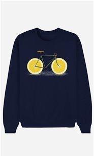 Blaue Sweatshirt Zest