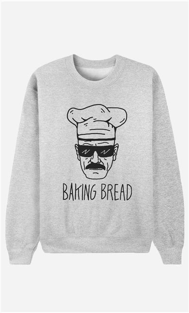 Sweatshirt Baking Bread