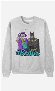 Sweatshirt Joker & Batman