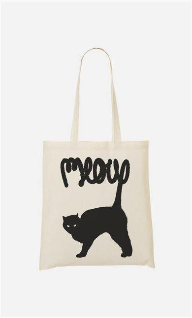 Stoffbeutel Meow