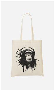 Stoffbeutel Creative Monkey