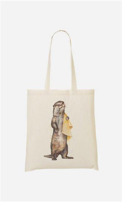 Stoffbeutel Otter
