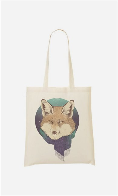 Stoffbeutel Winter Fox