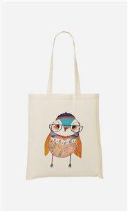 Stoffbeutel Bobble Hat Owl
