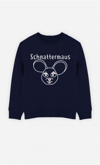 Blaue Sweatshirt Schnattermaus