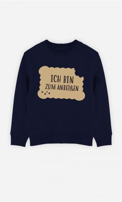 Blaue Sweatshirt Ich Bin Zum Ambeisen