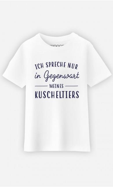 T-Shirt Ich Spreche Nur In Gegenwart Meines Kuscheltiers