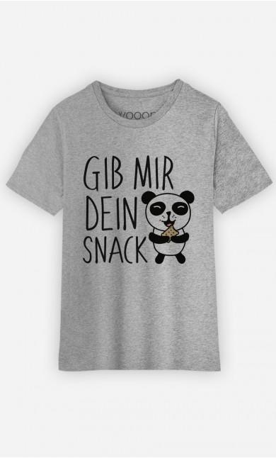 T-Shirt Gib Mir Dein Snack
