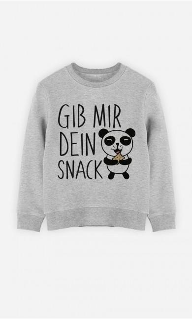 Sweatshirt Gib Mir Dein Snack