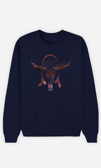 Sweatshirt Blau Deadly Desert