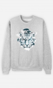 Sweatshirt Frozen Tiger
