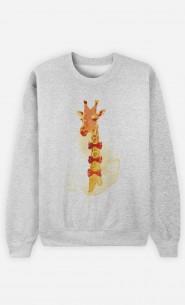 Sweatshirt Elegant Giraffe