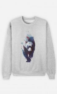 Sweatshirt Blue Bear