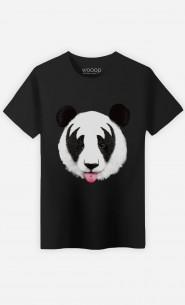 T-Shirt Panda Kiss