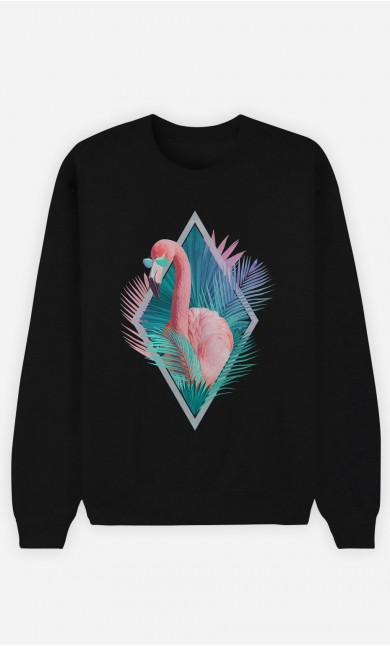 Sweatshirt Schwarz Tropical Vibes